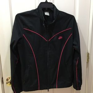 Black & Pink Nike Jacket L Large